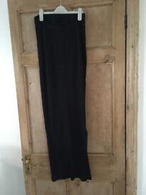 Maternity black skirt size 10. New