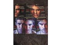 Full set Stefan diaries books