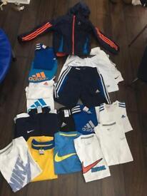 Boys sporty clothes bundle - lots of stuff
