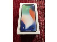 Unlocked iPhone X - Brand New - Silver