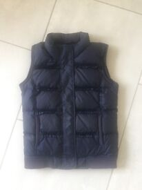 Navy Juicy couture gilet. Aged 12.