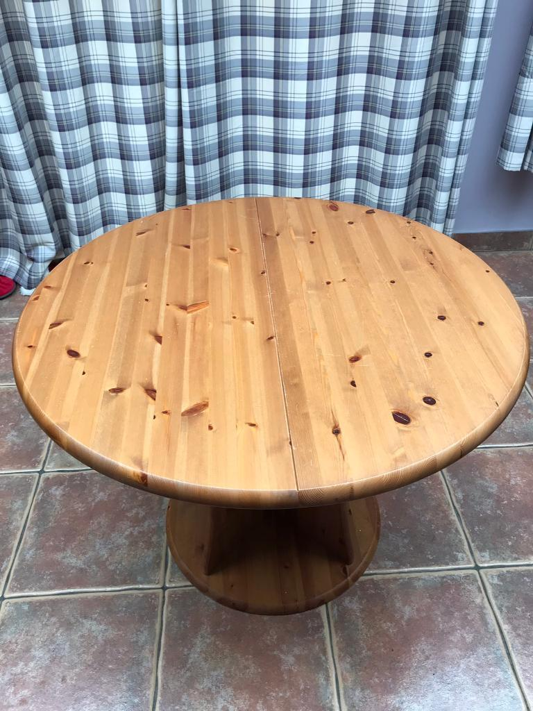 Solid Pine Dining Table And Chairs In Scone Perth Kinross Gumtree