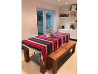 2 Mexican Blanket Serape directly from Mexico