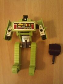 A bundle of figures and things from the 80s transformers and more