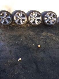18 inch genuine rs6 alloys
