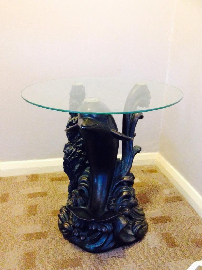 Dolphin glass table in Norwich Norfolk Gumtree : 86 from www.gumtree.com size 768 x 1024 jpeg 78kB