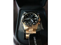 Emporio Armani Chronograph new mens watch