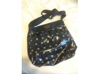 Fat face oil cloth large bag