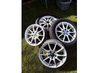 "Mercedes Benz mangles 16"" alloy wheels"