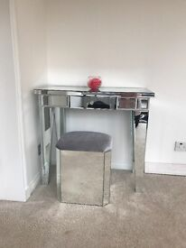 Dressing Table and stool for sale