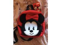 Minnie Mouse backpack - brand new. Disney store