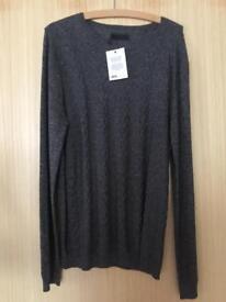 ASOS Super soft grey jumper - medium. New with tags
