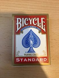 2x Bicycle Playing Cards - 1 Red & 1 Blue