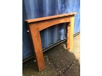Pine fire surround FREE DELIVERY PLYMOUTH AREA