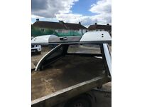 Nissan navara snug top of 2011 truck