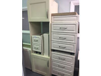 Selection of white Kitchen Cabinets