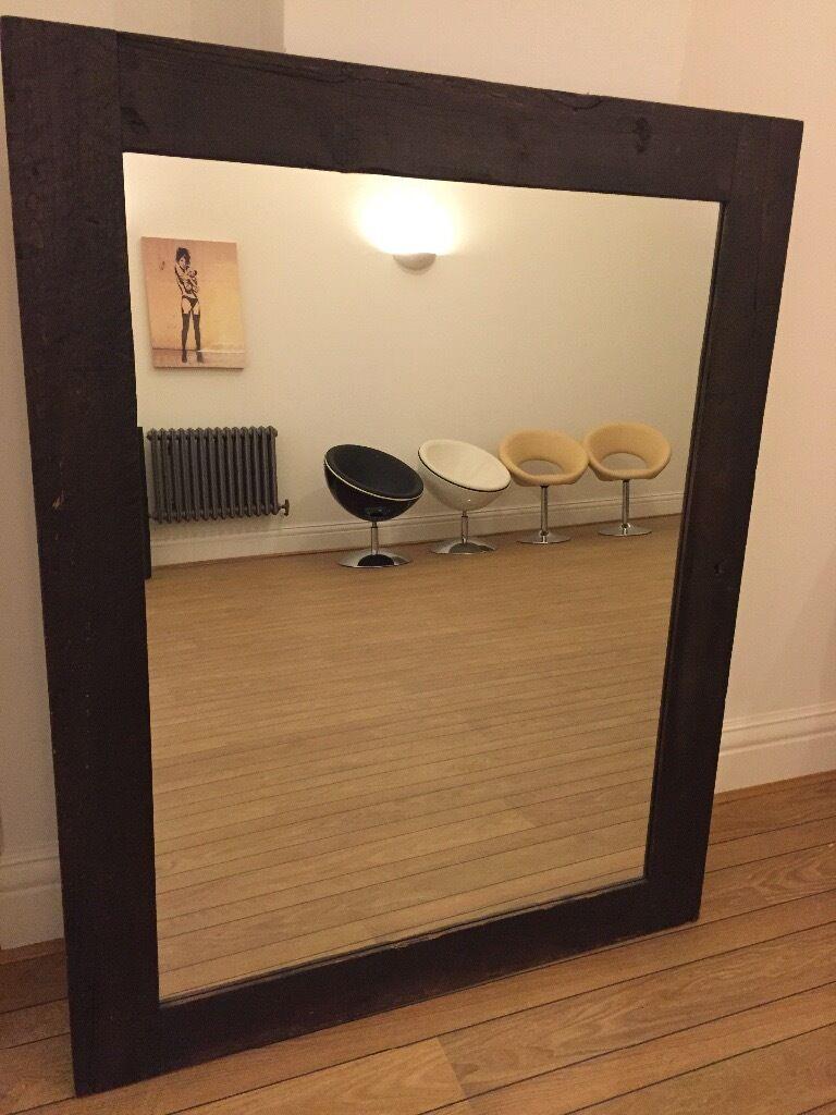 Solid wood mirror 145cm x 115cm