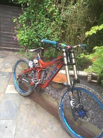 Trek session Downhill mountain bike