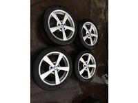 17 INCH VAUXHALL FITMENT ALLOYS WITH TYRES