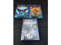 PlayStation 2 Lego games. Ps2