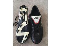 Umbro female football boots size 6