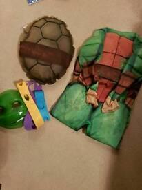 Teenage mutant ninja turtles dress up