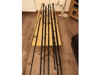 Various pike rods