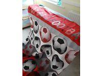 Single duvet colour - football theme