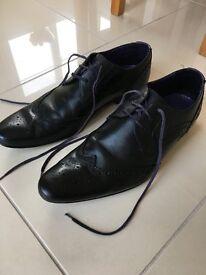 Men's black Ted Baker shoes in size 10