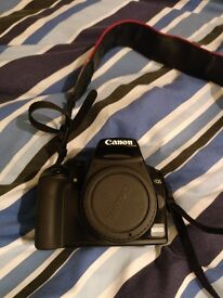 Canon EOS 1000D (LOW SHUTTER COUNT) + 18-54mm + UV & PL filters + bag + cables