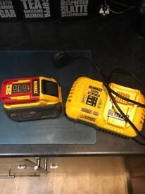 Dewalt 54v 9.0 ah battery & charger(new)