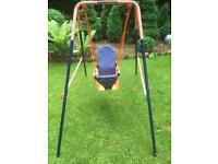 Baby Toddler Garden Swing