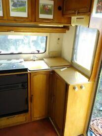 Bailey Pageant Cabriolet 2 berth caravan