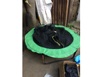 120 cm kids trampoline with nets