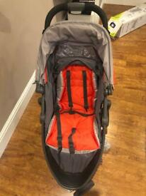 Graco Evo Mini Stroller/Pushchair- Red