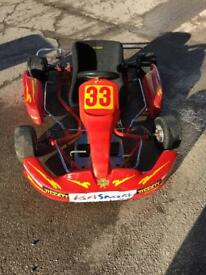 Racing kart with 400 engine