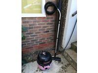 Henry Numatic Hoover Vacuum Cleaner pink