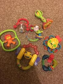 Big bundle of baby's toys