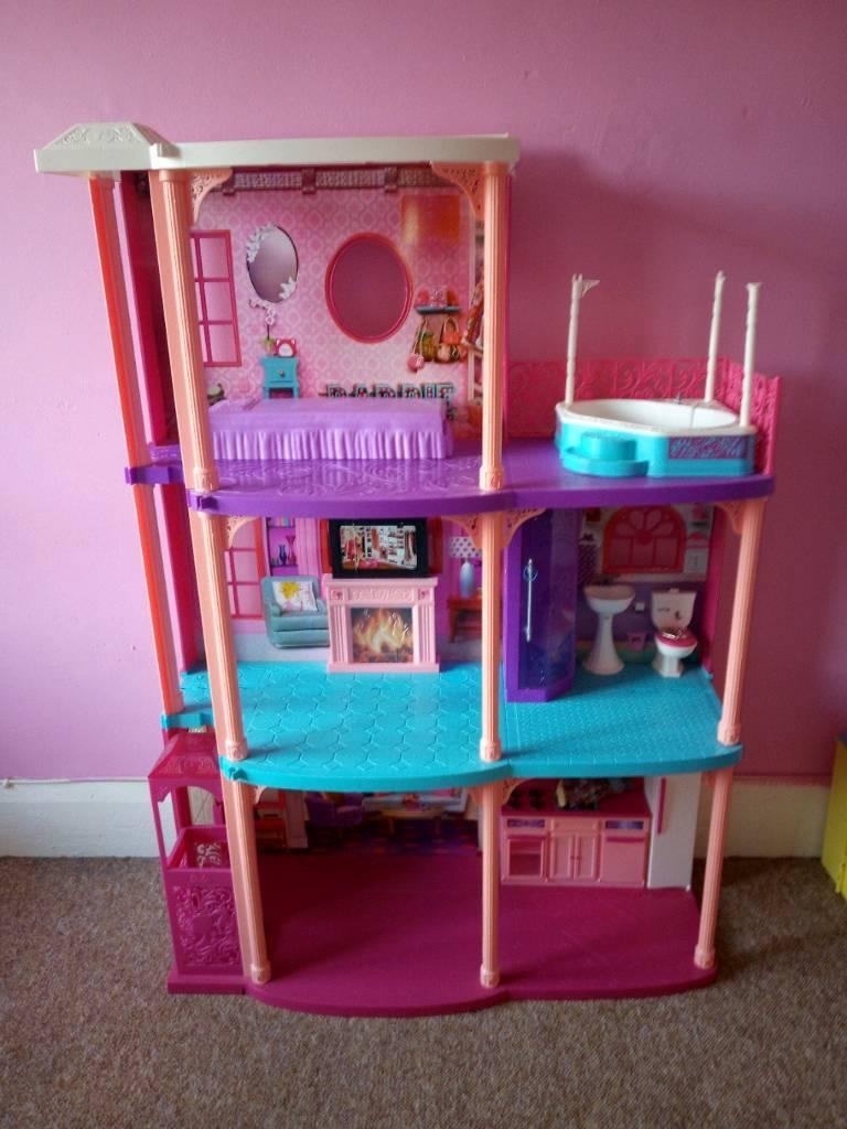 Large Barbie Doll Play House In Bognor Regis West Sussex Gumtree