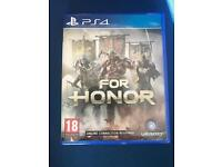FOR HONOR PS4 **BRAND NEW**