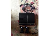 ps3 80G , cod black ops 2 and 2 controller's
