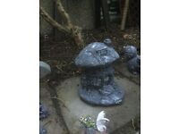 Large stone fairy tree house weathered to protect against frost £7.00