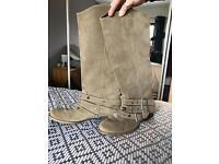 Faith leather boots