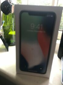 IPhone X 64gb black box