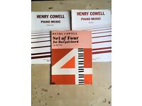 Henry Cowell - 20th Century Piano Scores (3 publications)