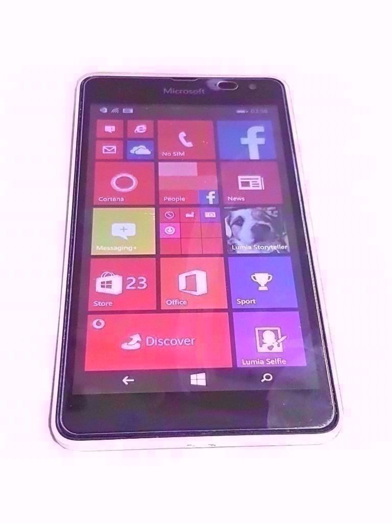 "MICROSOFT LUMIA 535 SMARTPHONE VODAFONEin Stoke on Trent, StaffordshireGumtree - Nokia Lumia 535 SMARTPHONE ORIGINAL BOX ORIGINAL CHARGER 5"" SCREEN SIZE 5 MP CAMERA 8 GB STORAGE 1 GB RAM 1.2 GHZ PROCESSOR WINDOWS OPERATING SYSTEM COMES WITH SCREEN PROTECTOR PHONE IS LOCKED TO VODAFONE NETWORK"