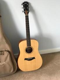 Taylor academy 10e electro acoustic guitar brand new case papers cost £600