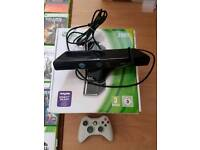 Xbox 360, kinect, controller, 37 games