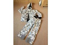 Tog24 ski jacket and Salopettes age 9-10 years