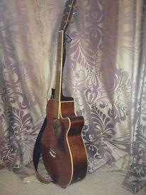 Tanglewood r/h acoustic guitar, TW45N-DLX-FC4